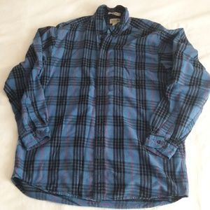 L.L. Bean Casual Flannel Size Large Tall